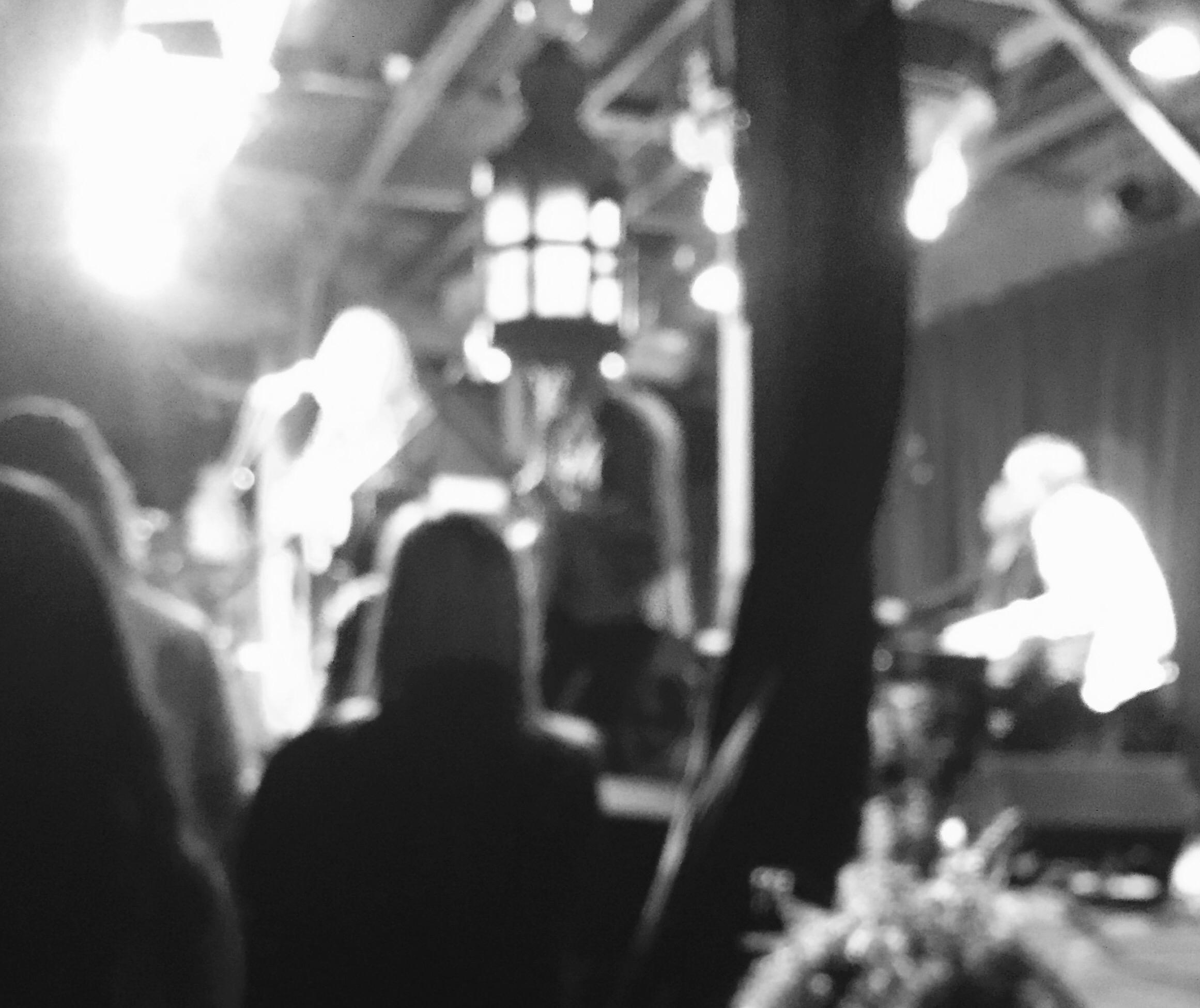 Josh Garrels at Common Grounds, Waco.