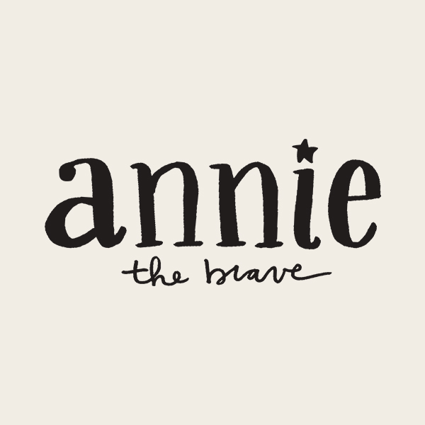 Annie the Brave Logo - Alisa Wismer Design + Illustration