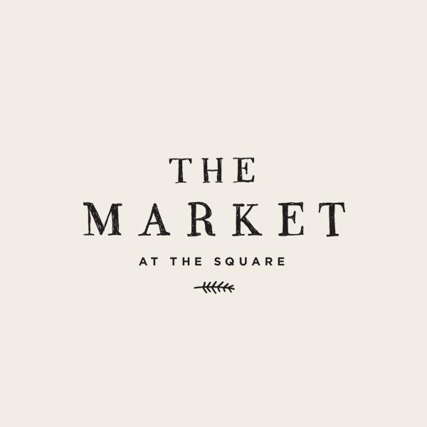 The Market at the Square Logo - Alisa Wismer Design + Illustration