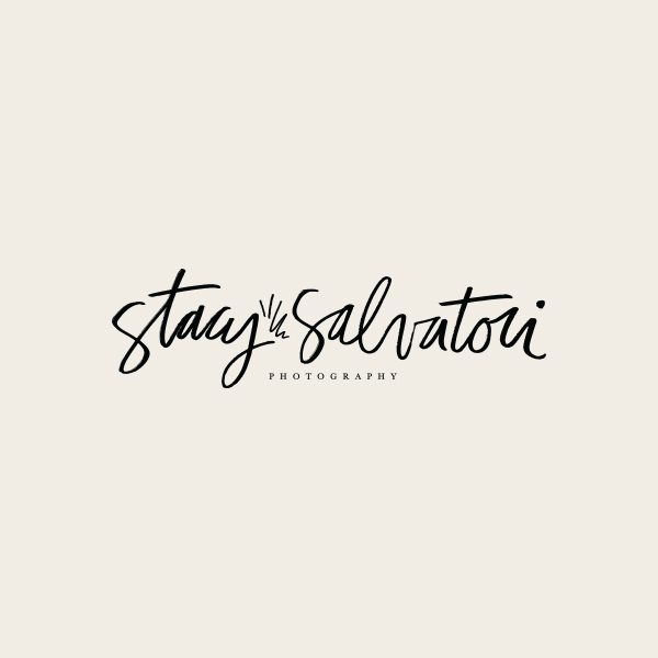 Stacy Salvatori Photography Logo Design - Alisa Wismer Design + Illustration