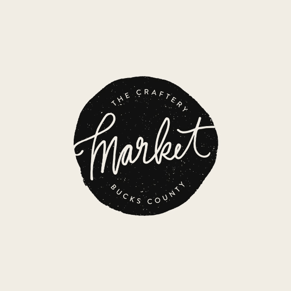 The Craftery Market Logo - Alisa Wismer Design + Illustration