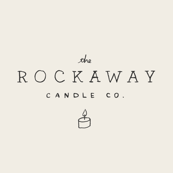 The Rockaway Candle Co. Logo - Alisa Wismer Design + Illustration