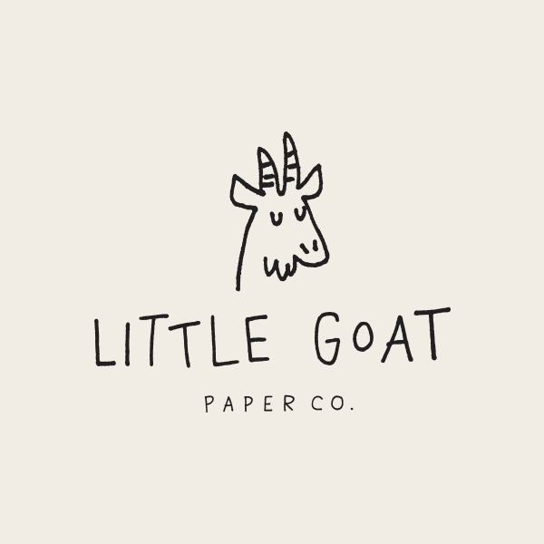Little Goat Paper Co. Logo - Alisa Wismer Design + Illustration
