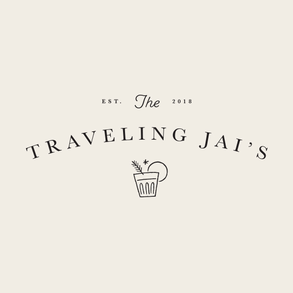 The Traveling Jai's Logo - Alisa Wismer Design + Illustration
