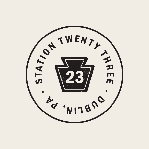 Station 23 Logo - Alisa Wismer Design + Illustration