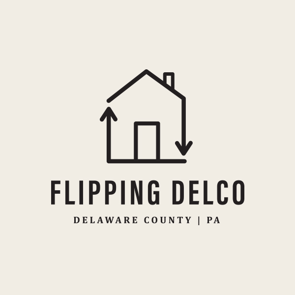 Flippin' Delco Logo - Alisa Wismer Design + Illustration