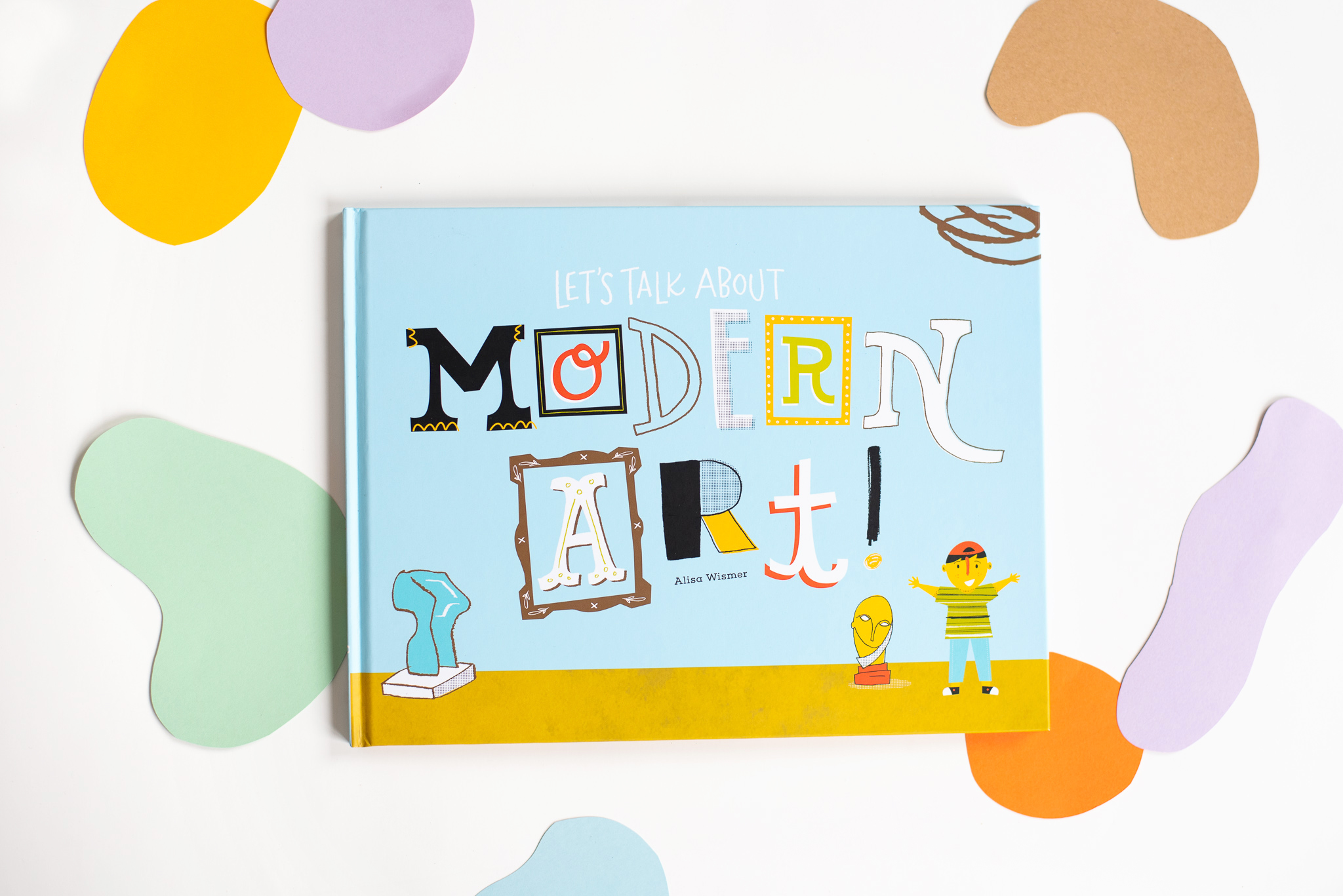 Let's Talk About Modern Art Book Photo