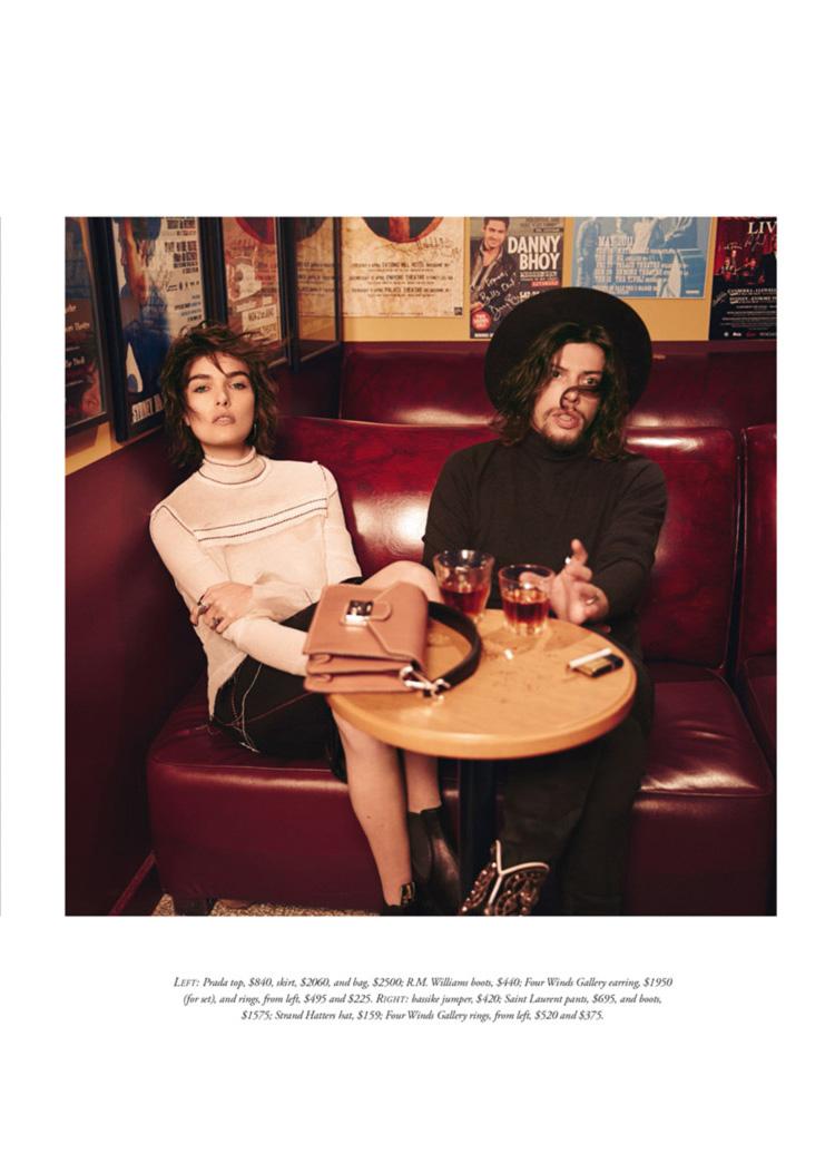 Harpers Bazaar  Because The Night