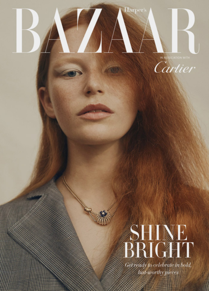 HARPERS BAZAAR  SHINE BRIGHT