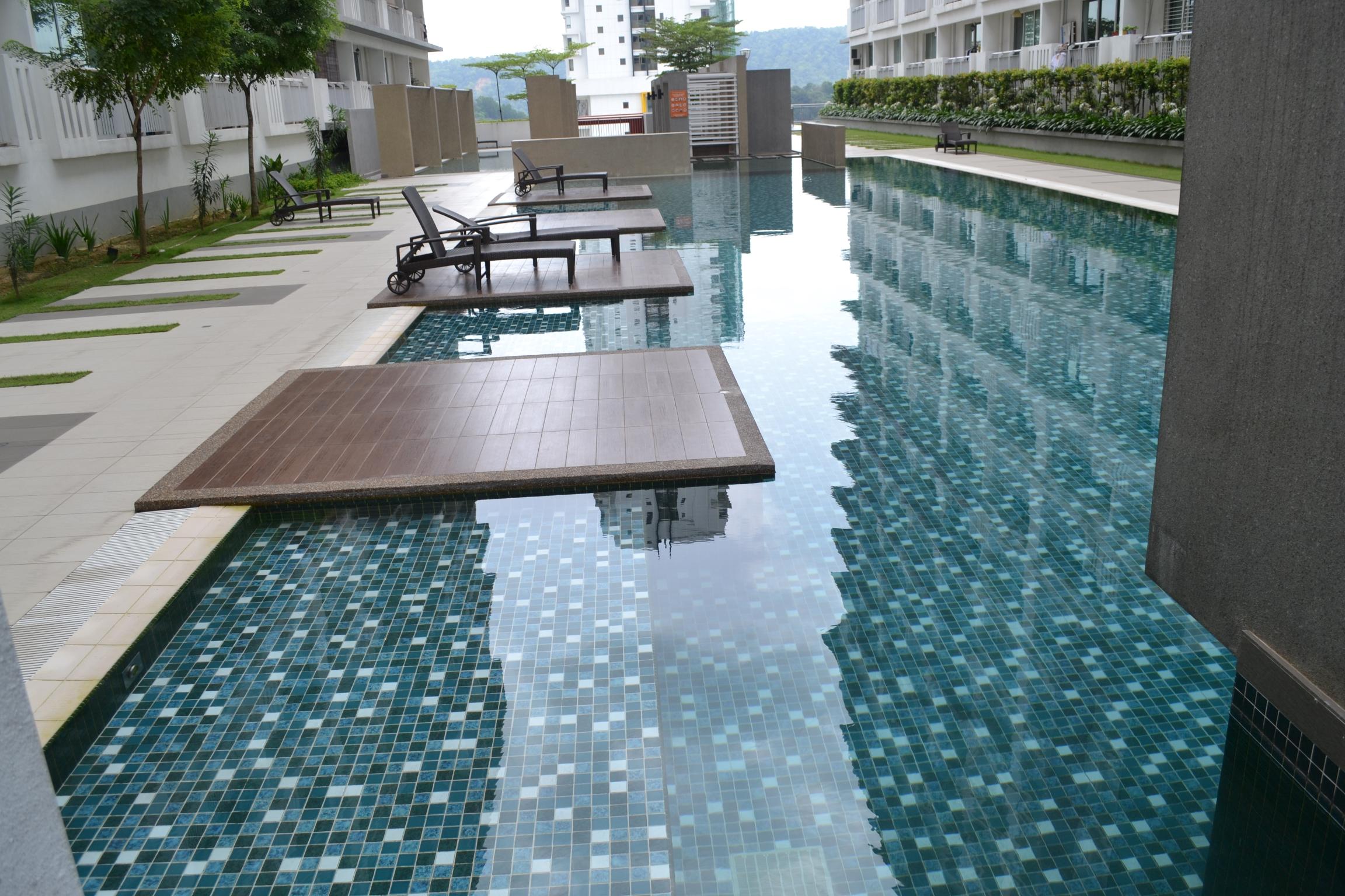 Ritz Perdana Condominium II, Damansara Perdana   Mixture of SQ-1100,  SQ-332S,  SQ-4587 &  SQ-034