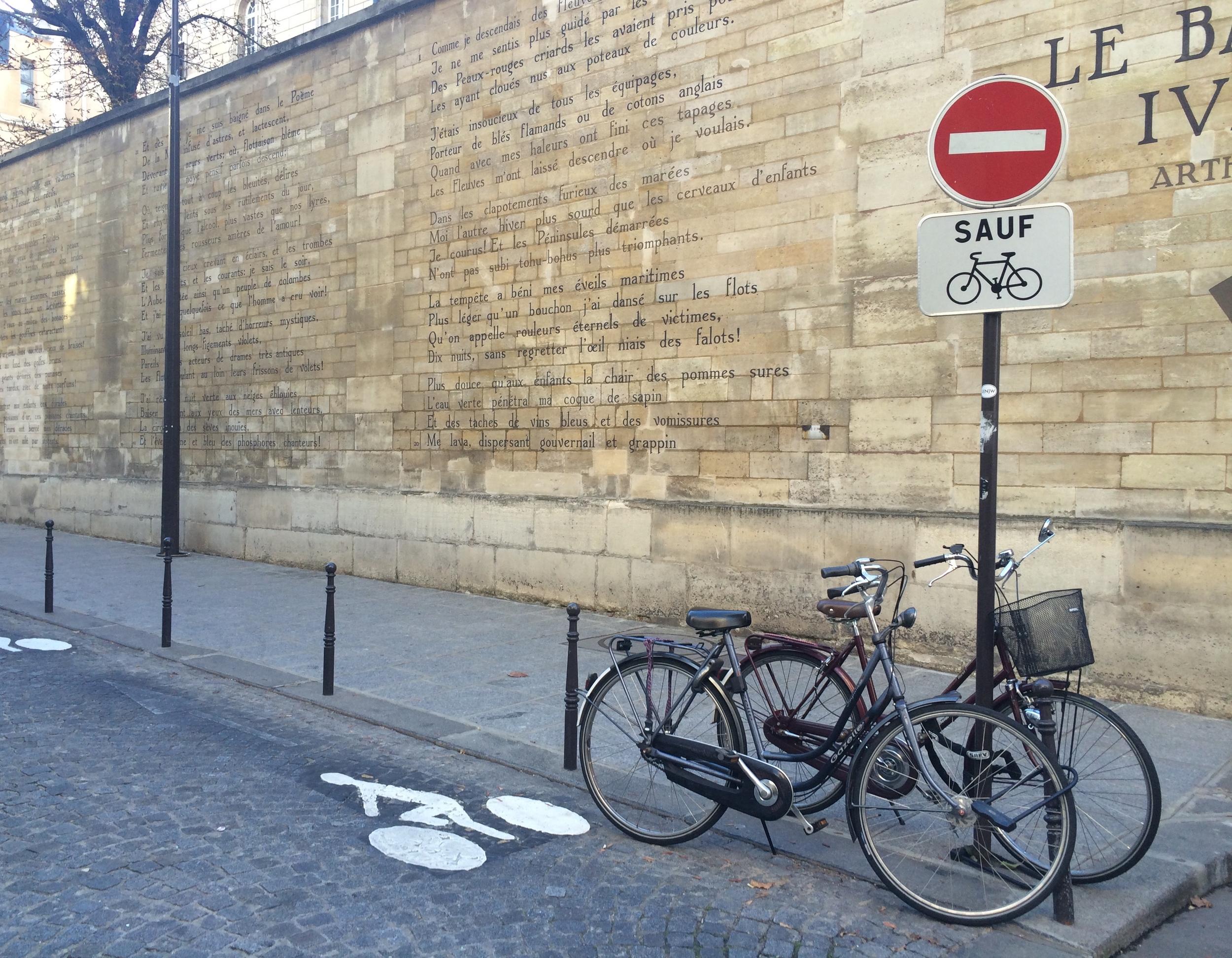 Rue Férou, Le Bateau Ivre - Rimbaud