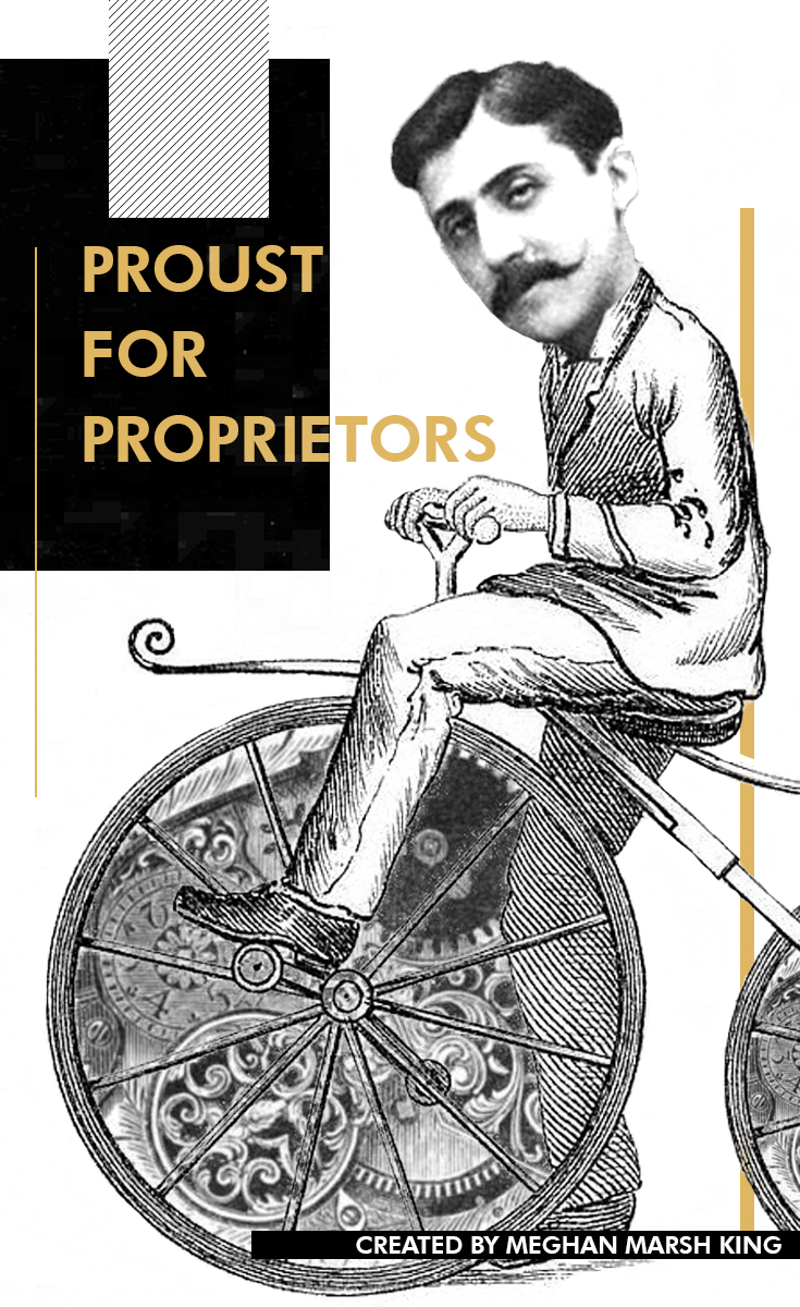 Proust for Proprietors, A Founders Survey, Created by Meghan Marsh King