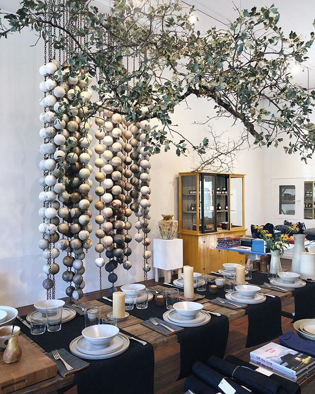 Finally made it to the beautiful new @carter_andco in St. Helena to check out the home of my favorite earthenware and I'd like to move in, please and thank you.