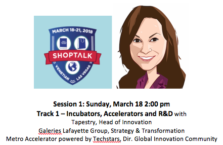 Meet@ Shoptalk - Let's talk about how to infuse innovation and the culture of innovation into your brand DNA.Schedule your time: annemarie@kwolia.com