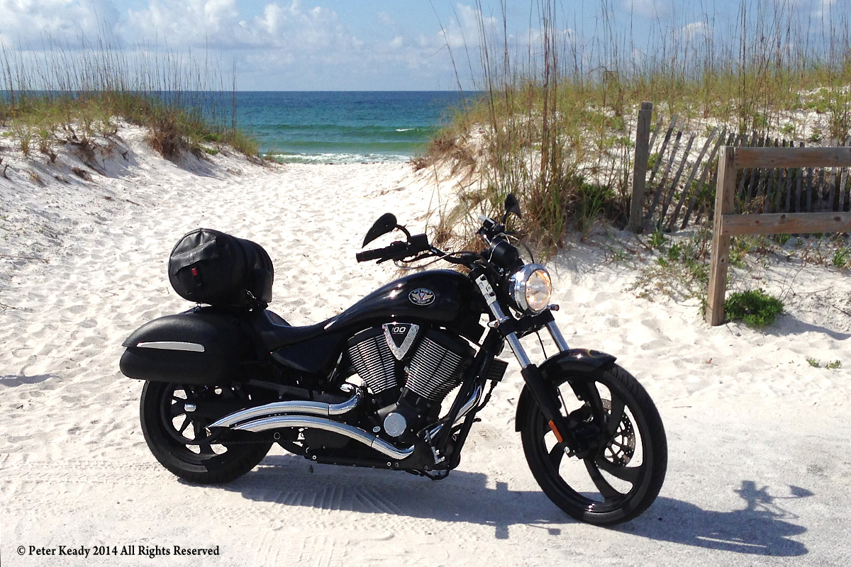 My ride. The Gulf of Mexico in Navarre, Florida. This is how I found grace.