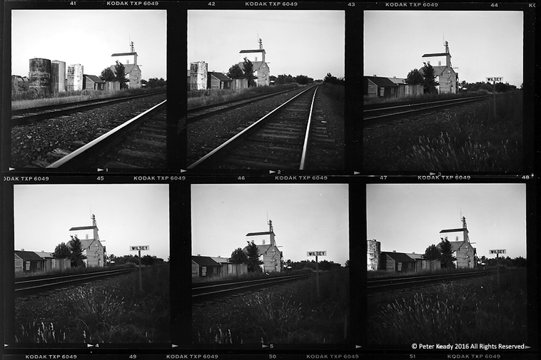 Years ago I was in Wilsey, Kansas, where my mother-in-law grew up. Just a few months after I took these photos, the railway in Wilsey, which was the lifeblood of the town, was torn up. Wilsey failed to keep up with the change in times. It's demise was both saddening and predictable.