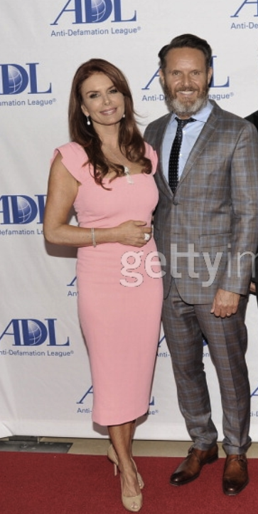 Roma Downey & Mark Burnett on the ADL red carpet