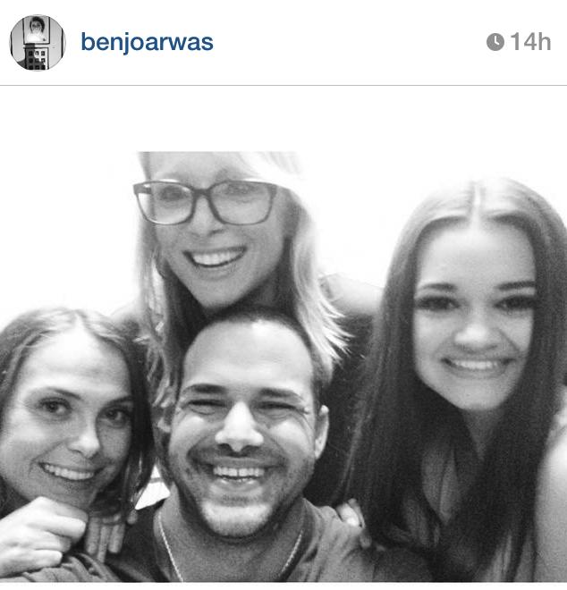 The team: Franzy, Benjo, Ciara and I