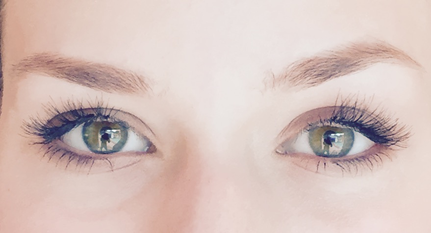 Even a fresh look can be enhanced by great lashes!