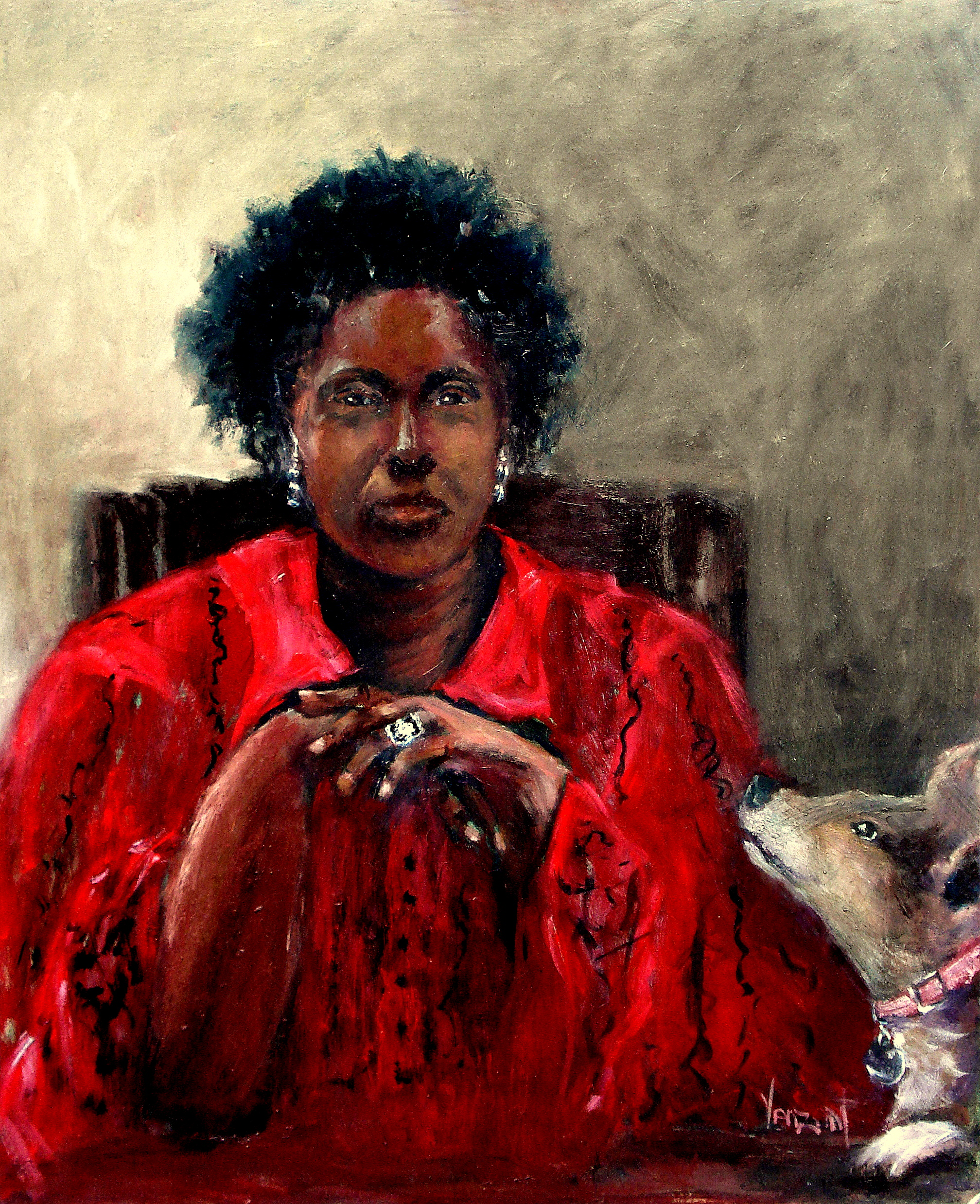 Self-Portrait with Serena 2014