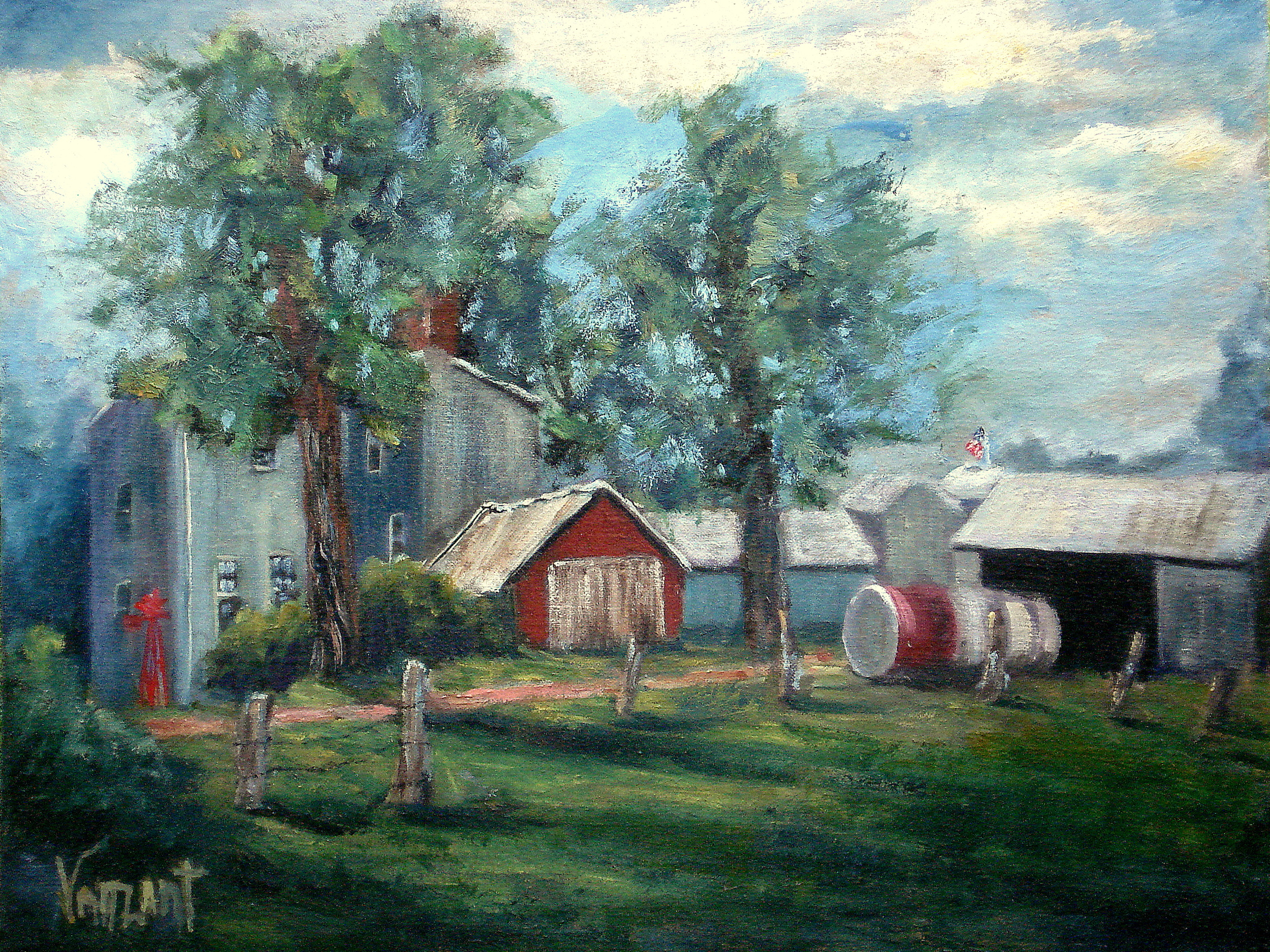 Fred Pew Farm