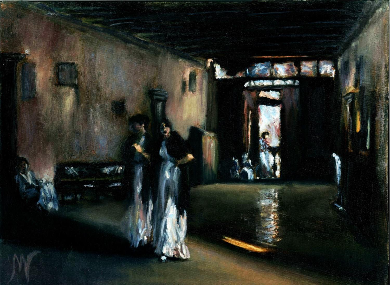 Venetian Interior after John Singer Sargent