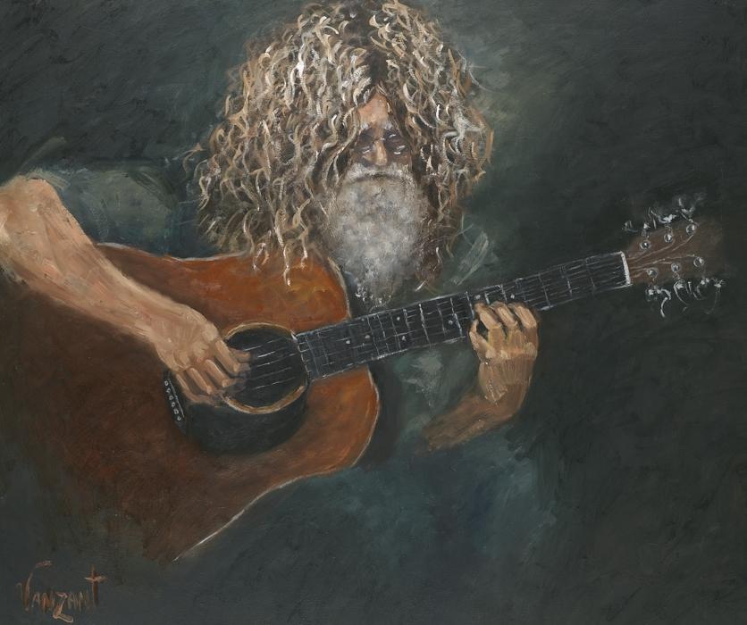 The Guitar Player - Professor David Falcone