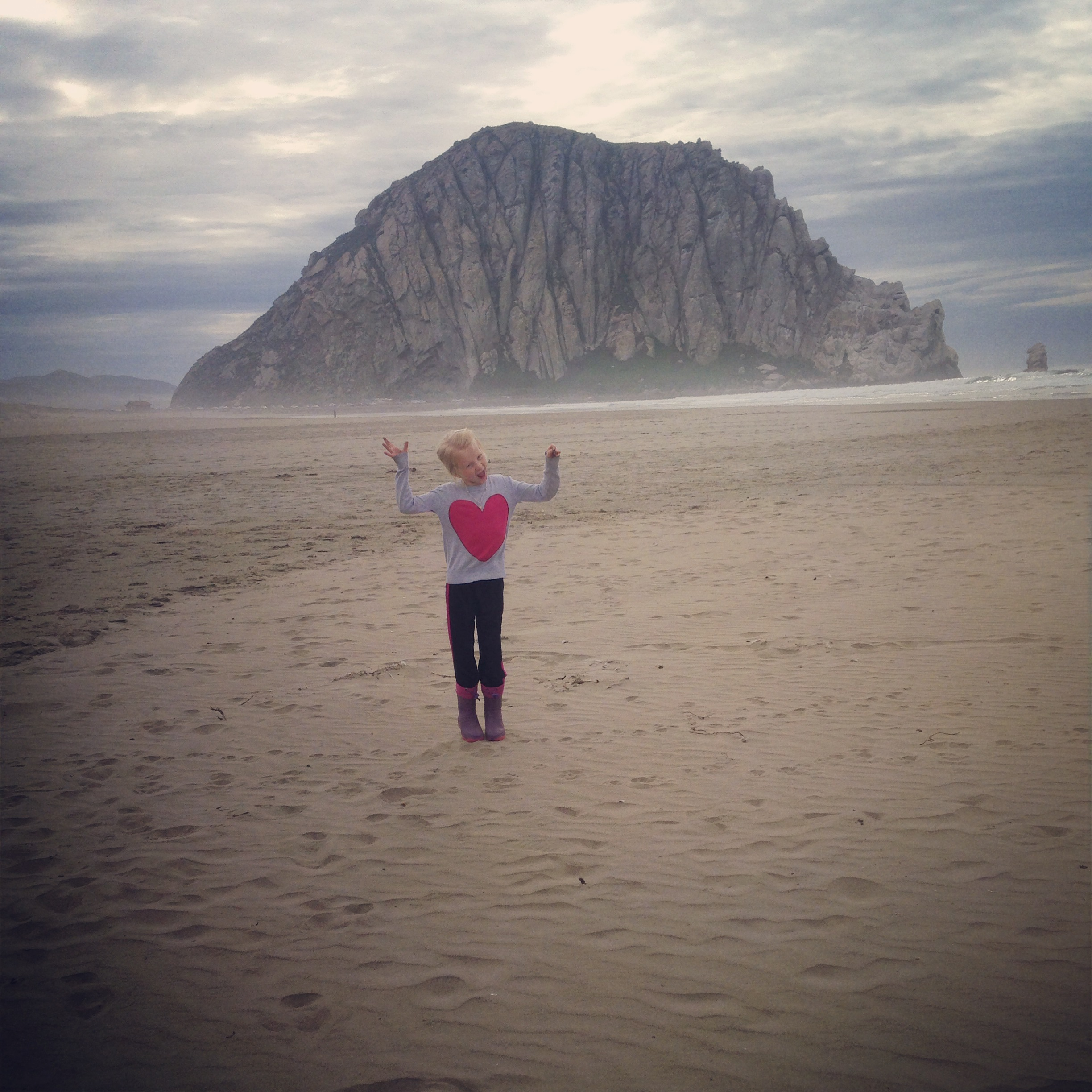 Our RV park in Morro Bay was steps away from this!