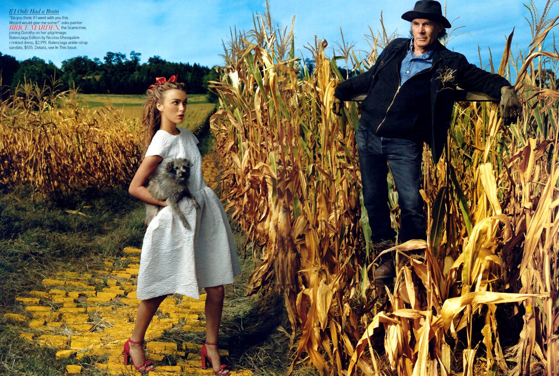 Kiera Knightley by Annie Leibovitz, VOGUE, December 2005