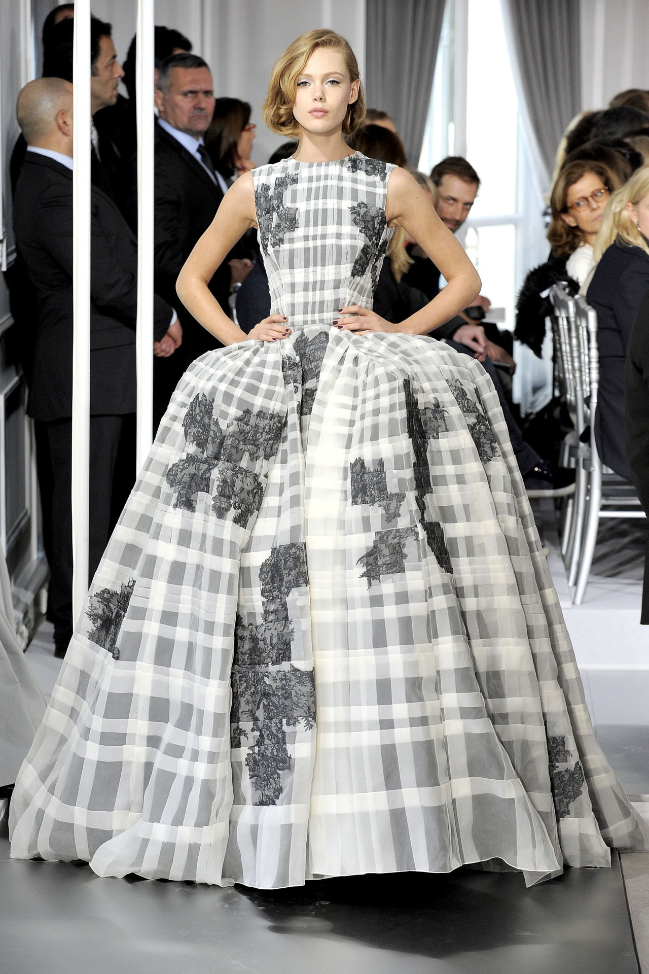 Christian Dior Couture Spring/Summer 2012, Image via Vogue UK