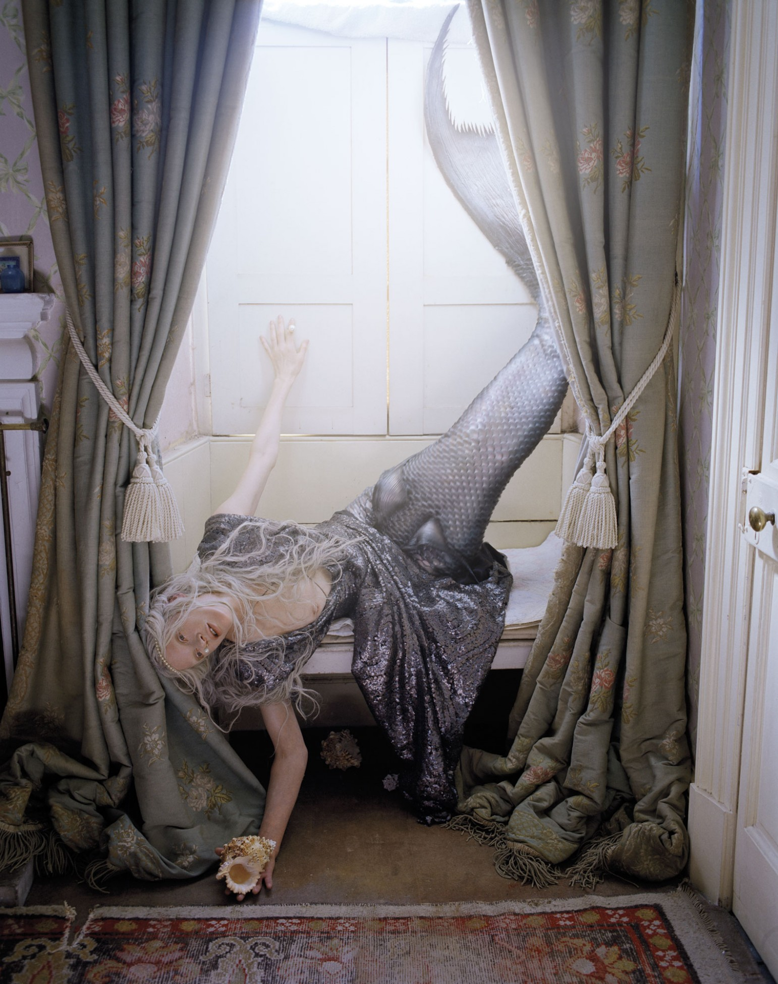 Kristen McMenamy by Tim Walker, W Magazine, 2013