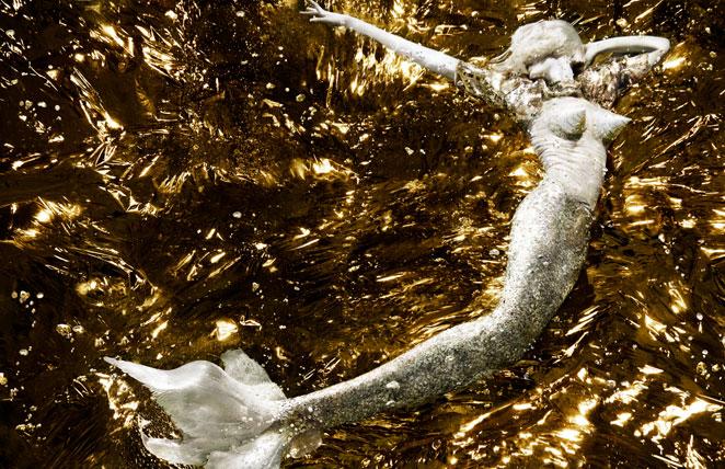 'Untitled' by Alix Malka. Jean Paul Gaultier S/S 2008.
