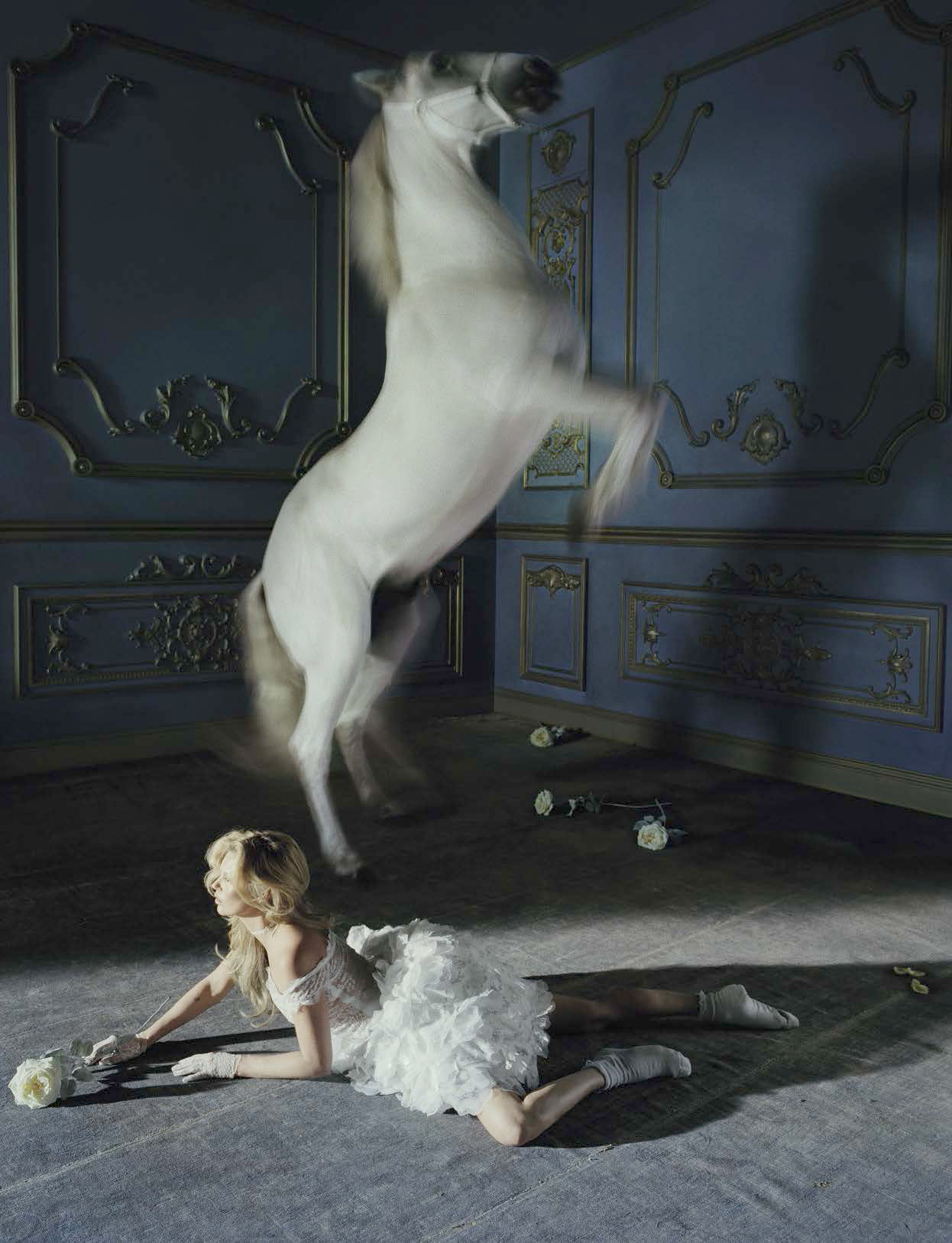 Kate Moss by Tim Walker, Vogue Italia, 2015