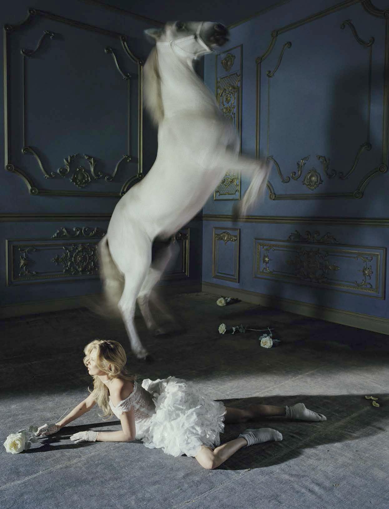 Kate Moss by Tim Walker, Vogue Italia, 2015