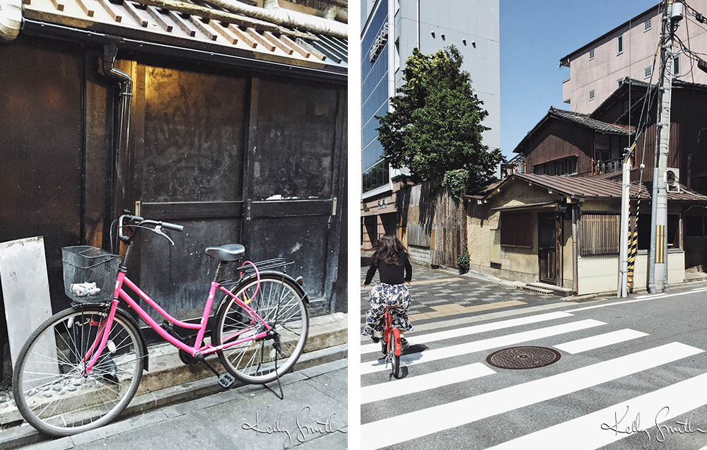 BIKE IN GION / KYOTO