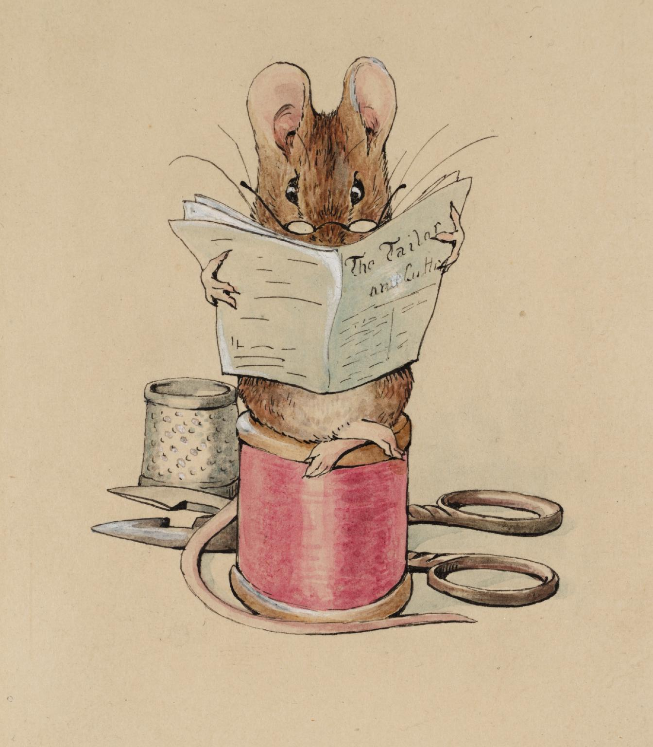 The Tailor Mouse by Beatrix Potter
