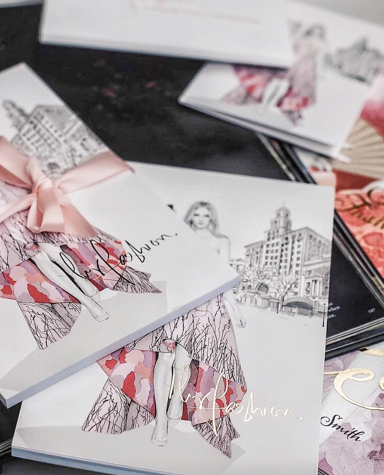 HyFashion Stationery Suite, photographed by Gemma Watts