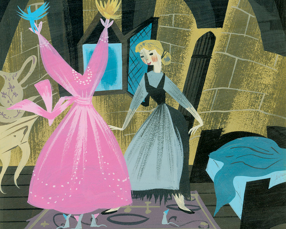 Artwork by Mary Blair for Walt Disney