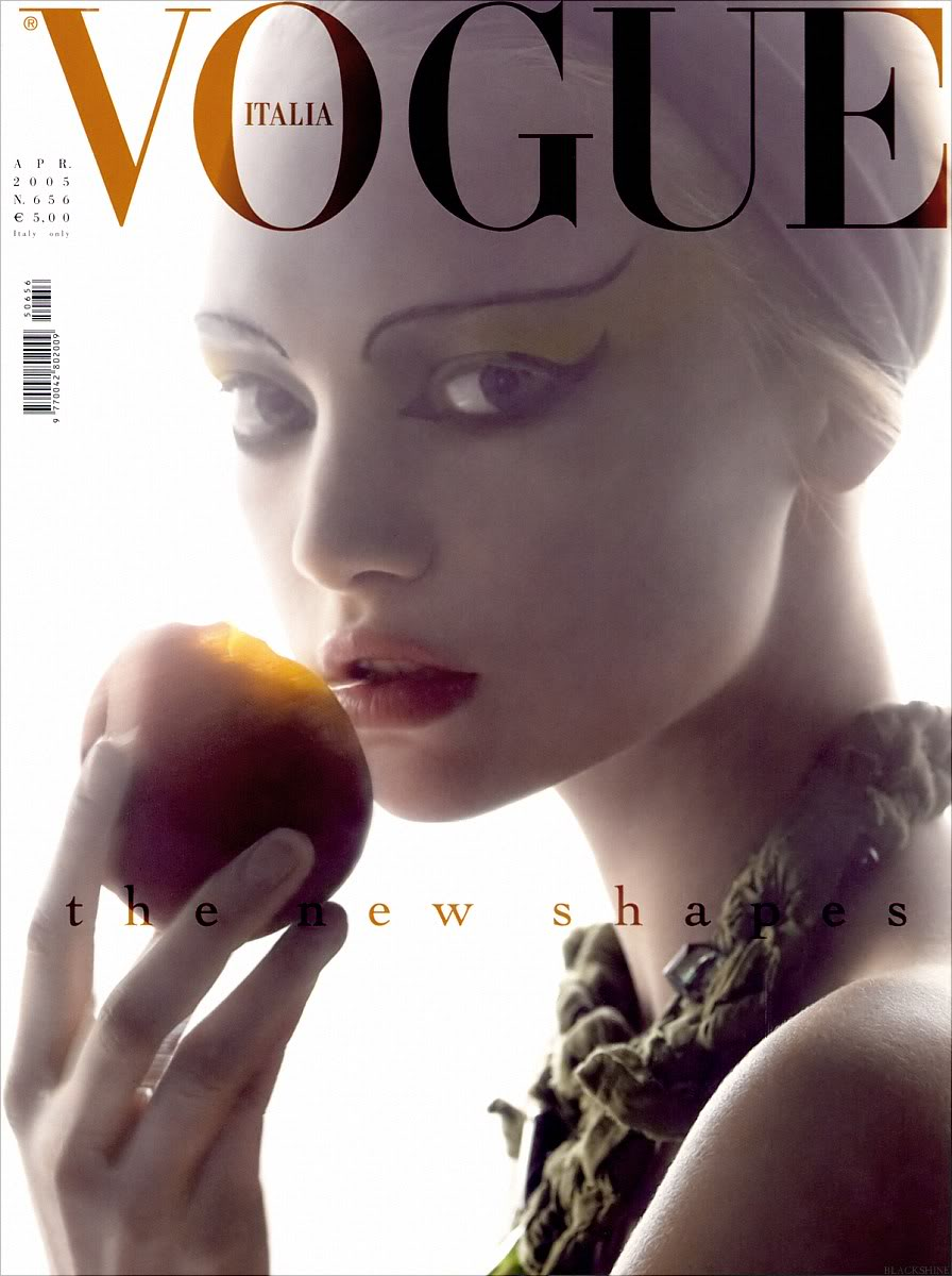 Gemma Ward, photographed by Steven Meisel, Vogue Italia, 2005