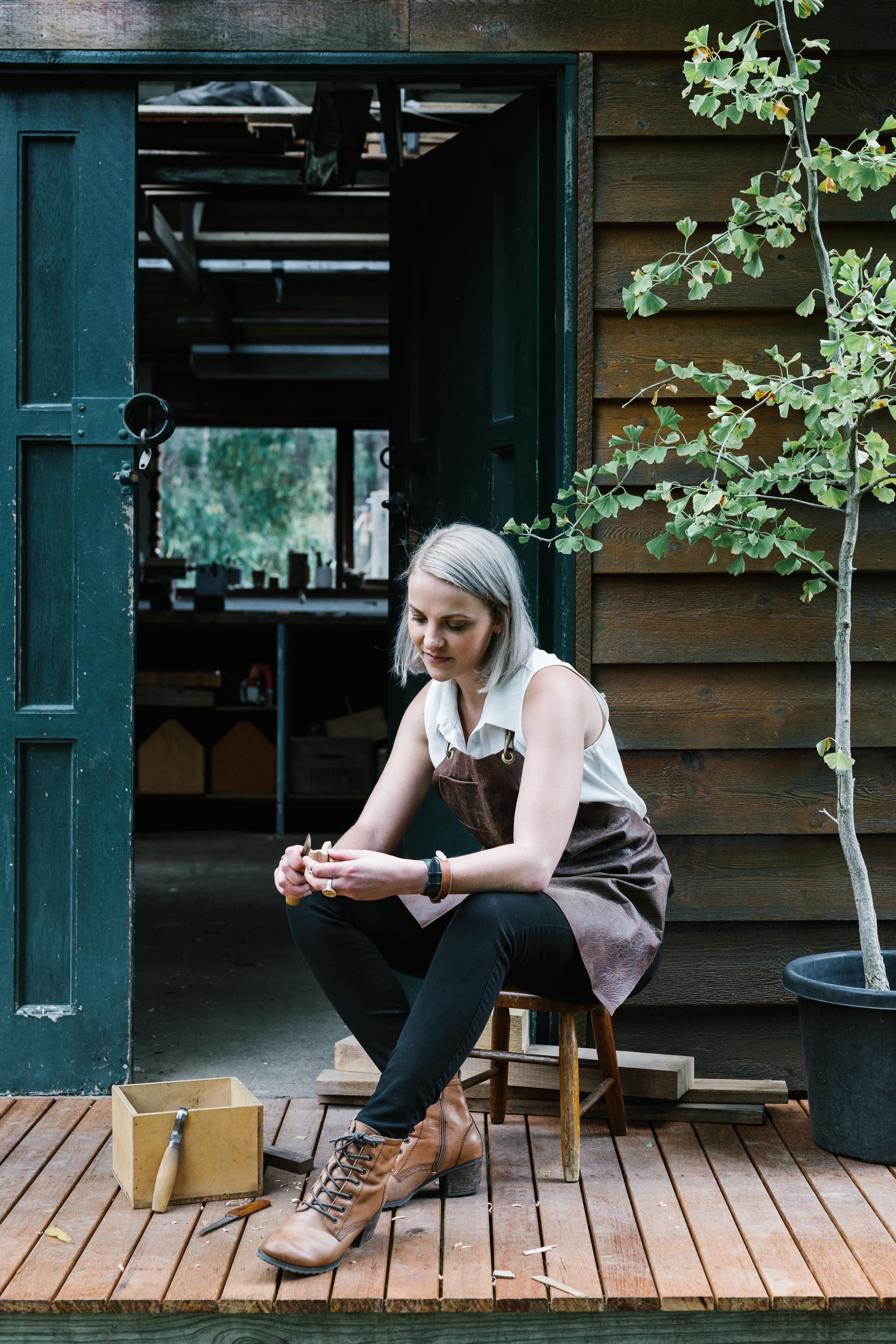 Erin Malloy, melbourne woodworker and maker | for Country Style magazine