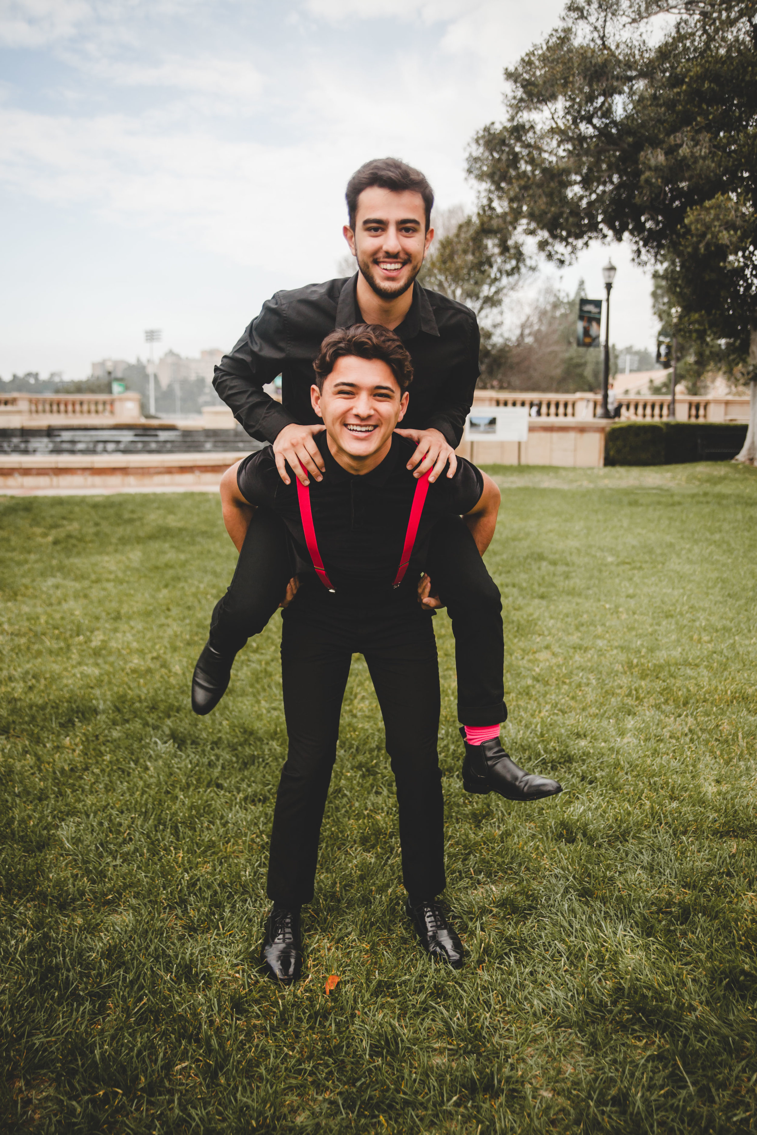 Tenors:  Nick (top) & Justin