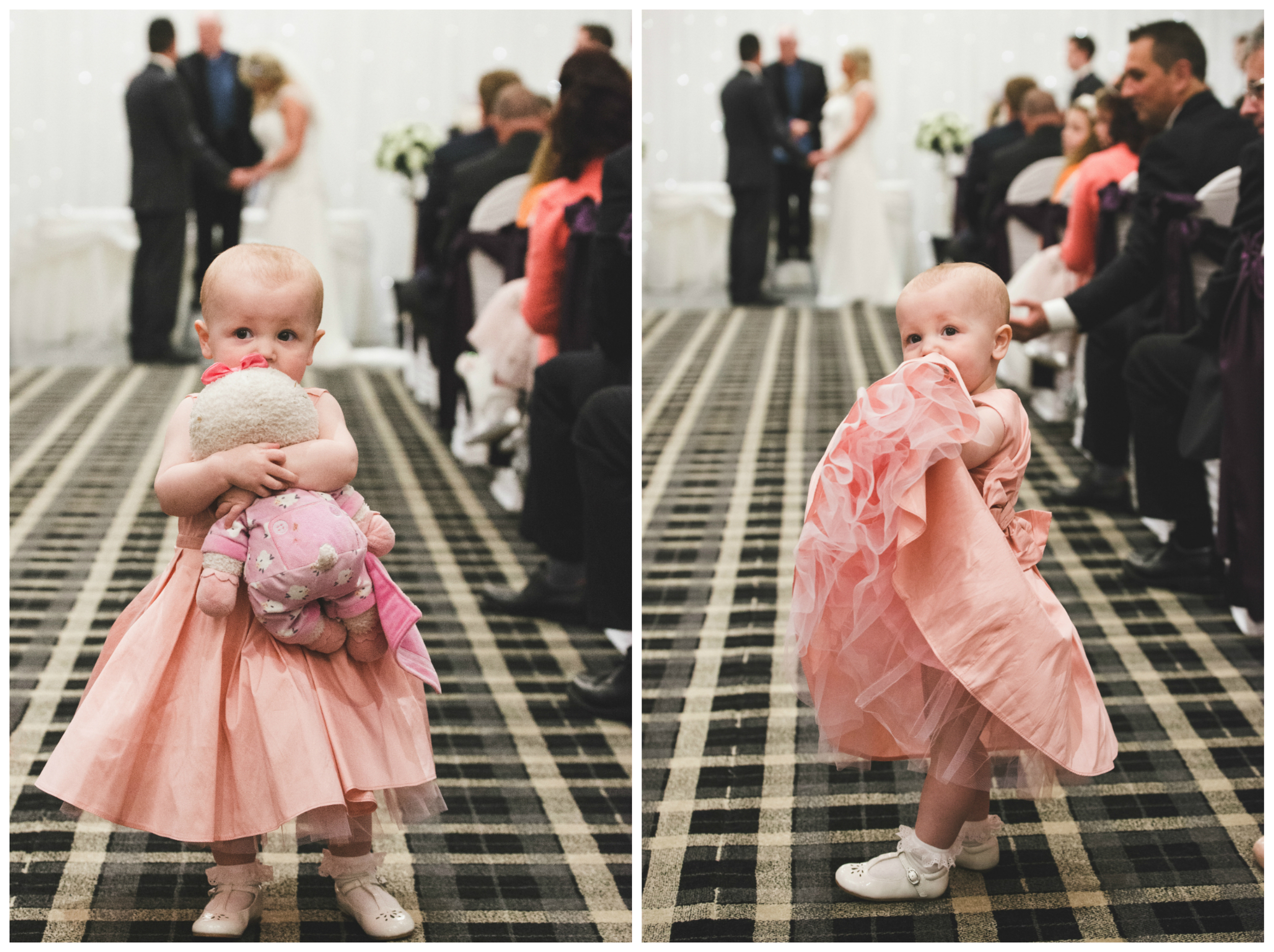 This young wedding guest has to be one of the cutest kids we have shot this year