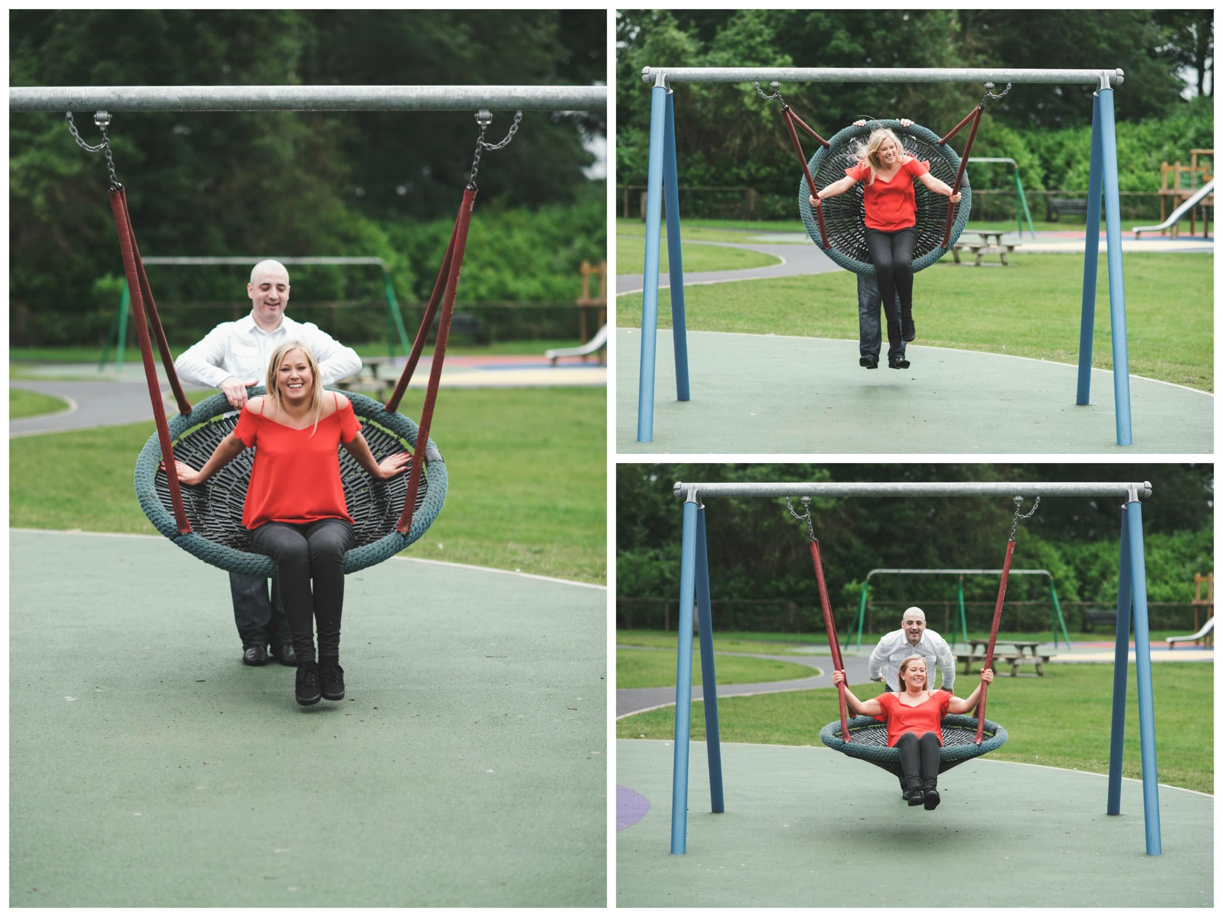 Engagement_Photographs_Belfast_Lady_Dixons_Park_Swing
