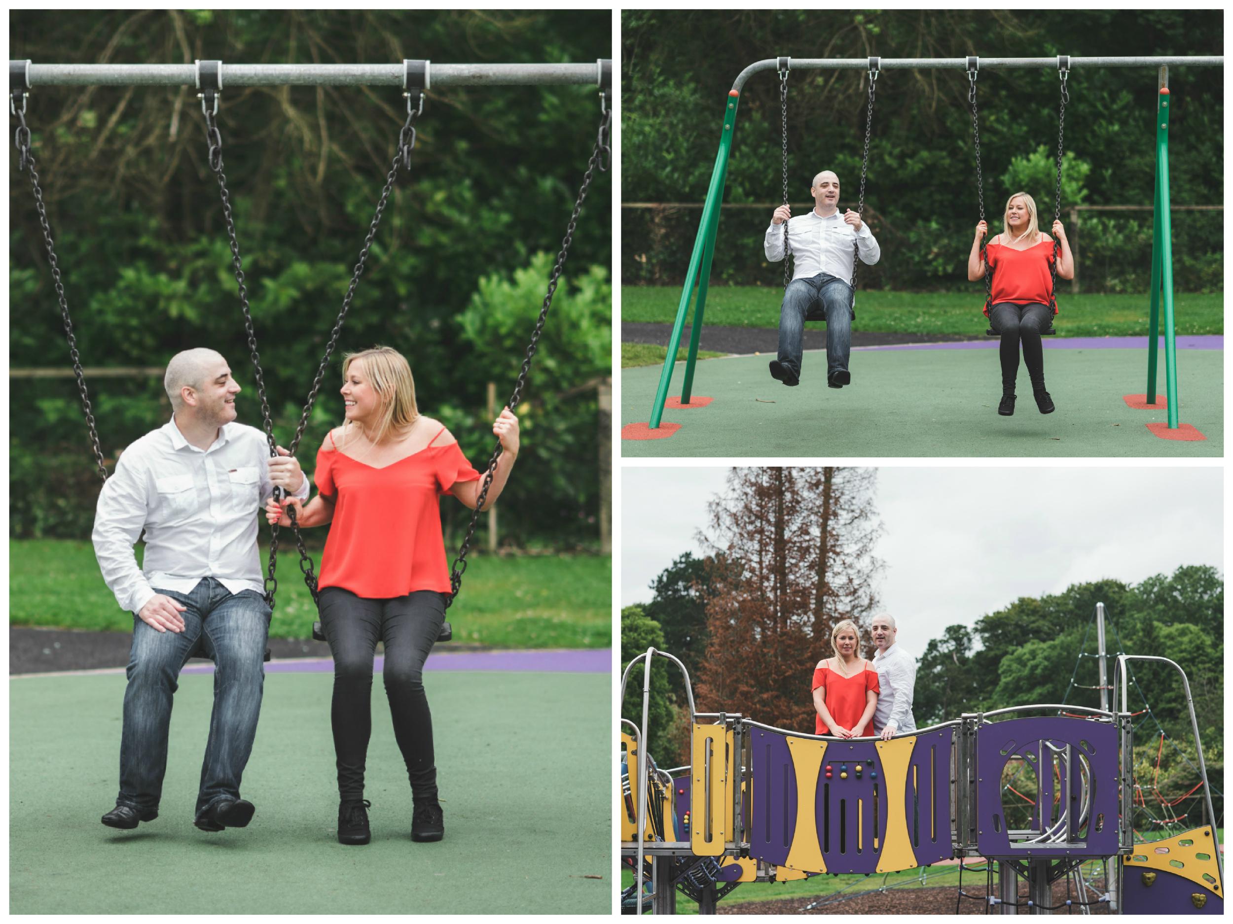 Engagement_Photographs_Belfast_Lady_Dixons_Park_Swings