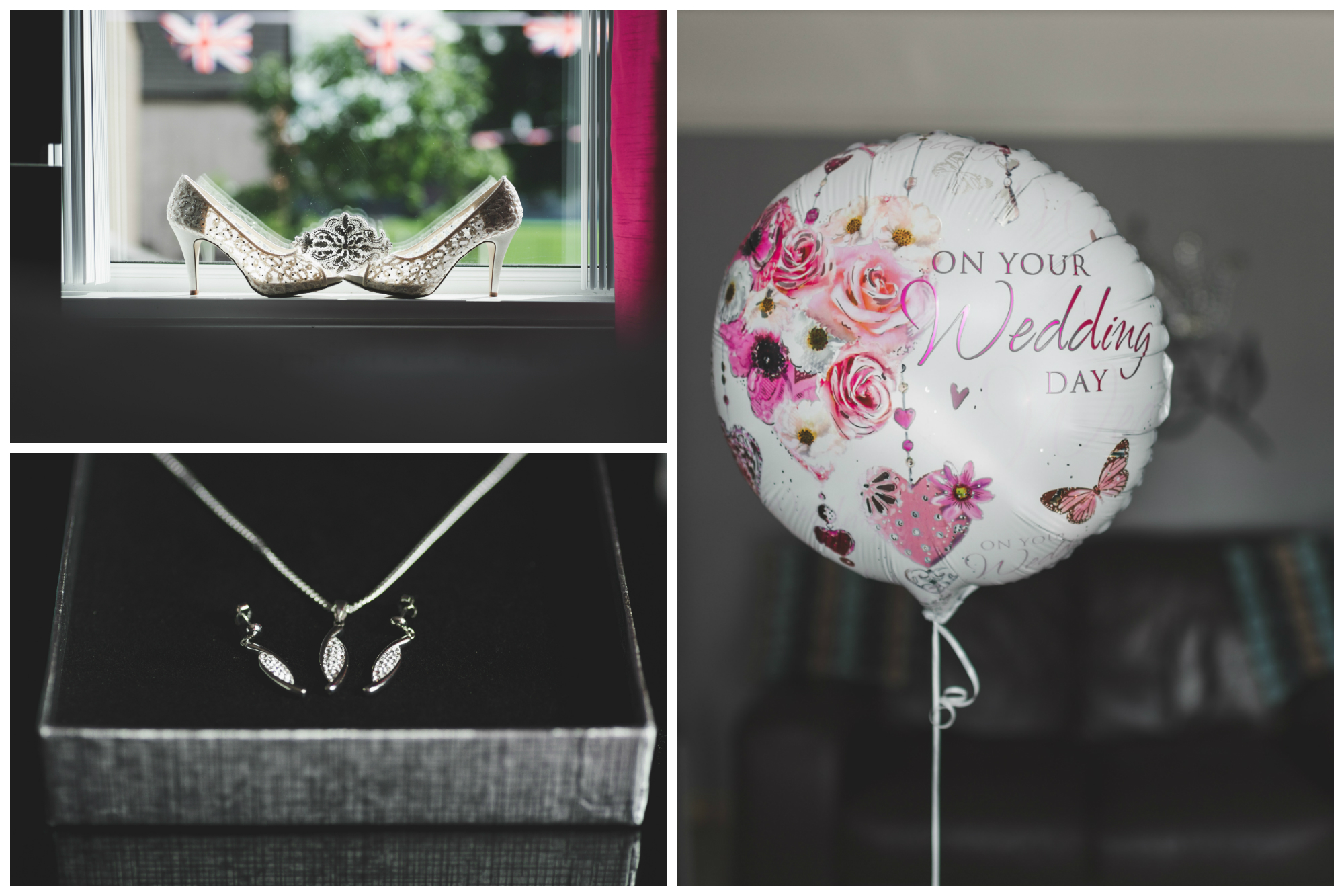 Belfast_Wedding_Photography_Baloon_Ear_Rings_Shoes
