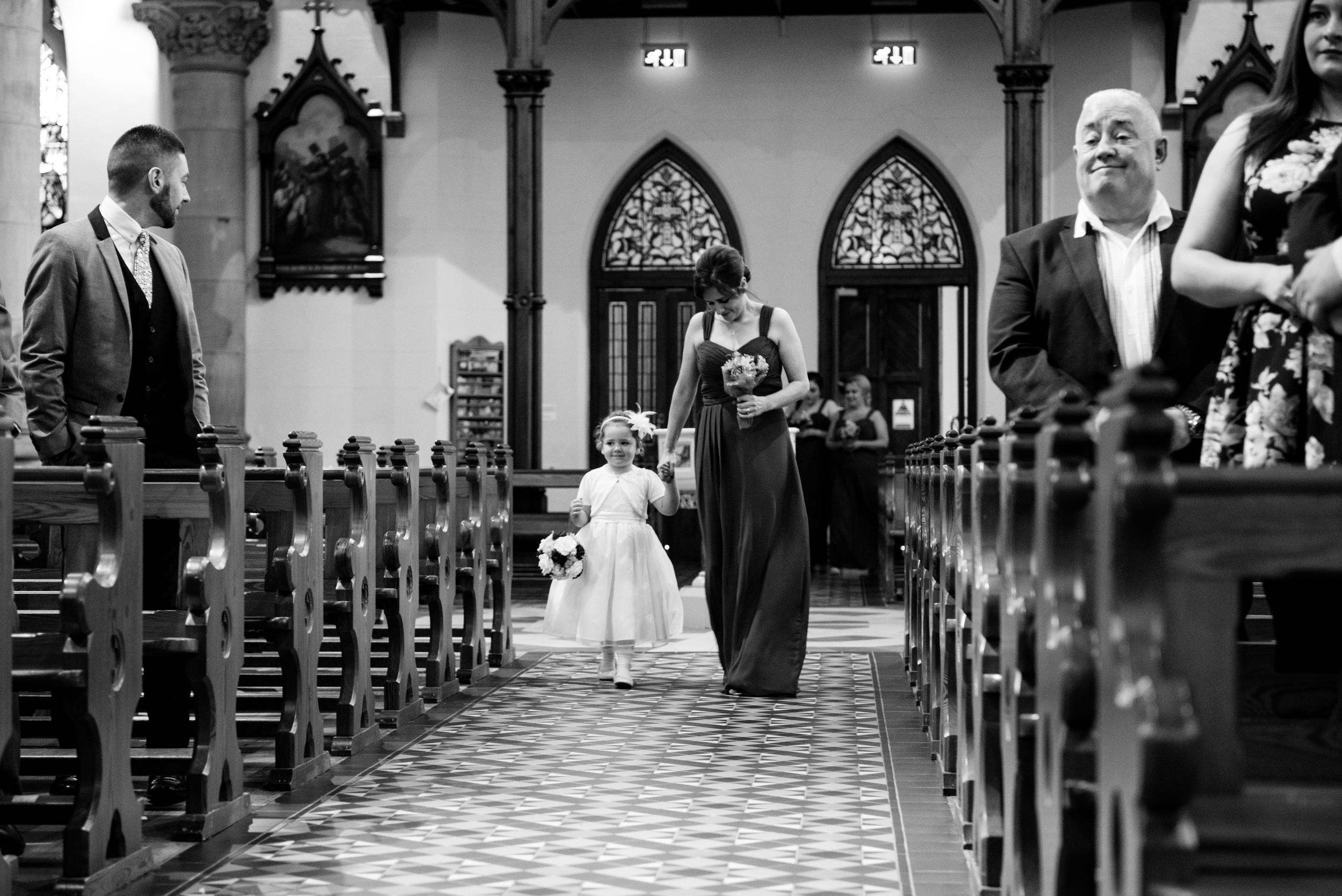 Lisburn_Wedding_Photographer_Ceremony_Flower_Girl
