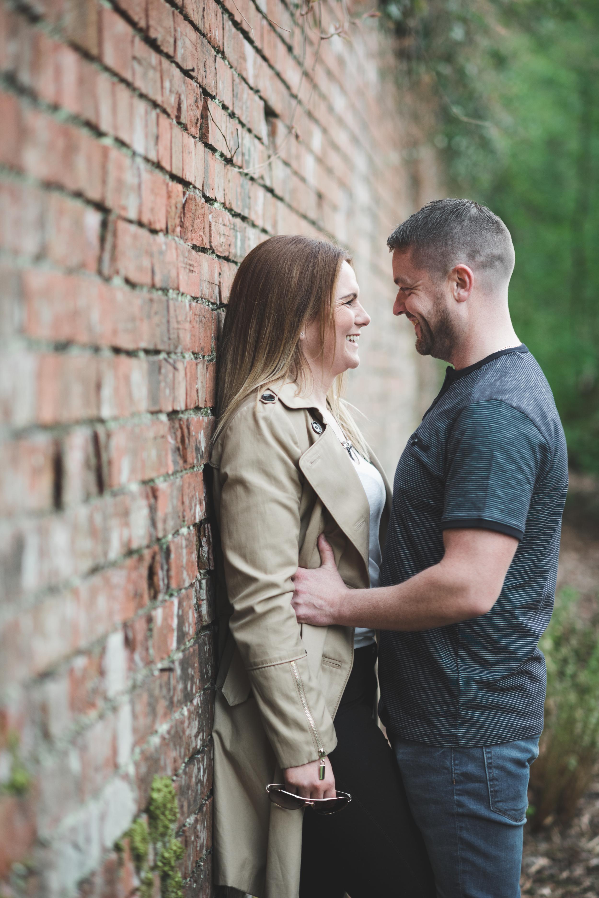 Nikki_Chris_engagement_session_belfast_purephotoni_sir_thomas_and_lady_dixons_park_brick_wall