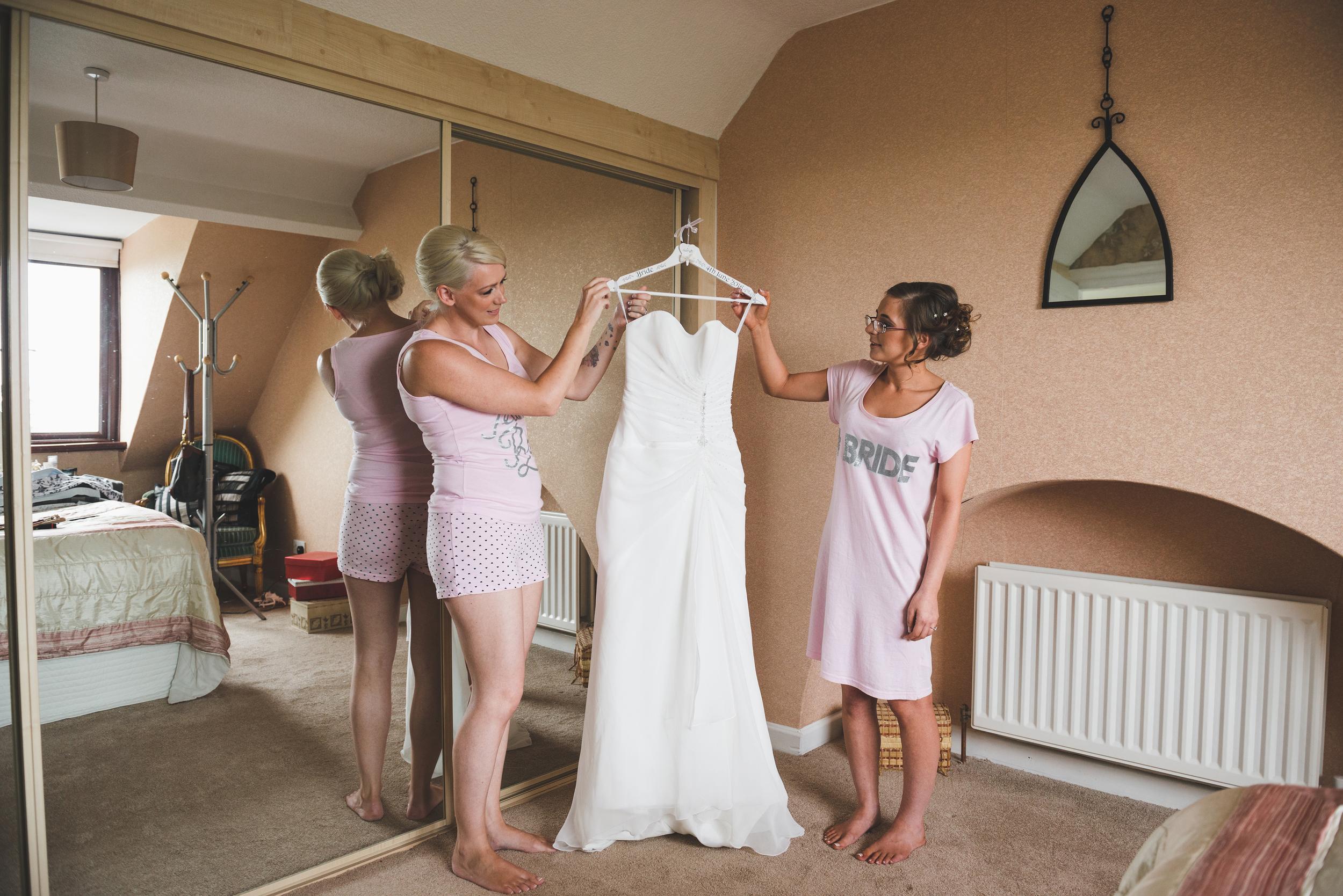 Ballymac_hotel_wedding_lisburn_bride_maid_of_honour_dress