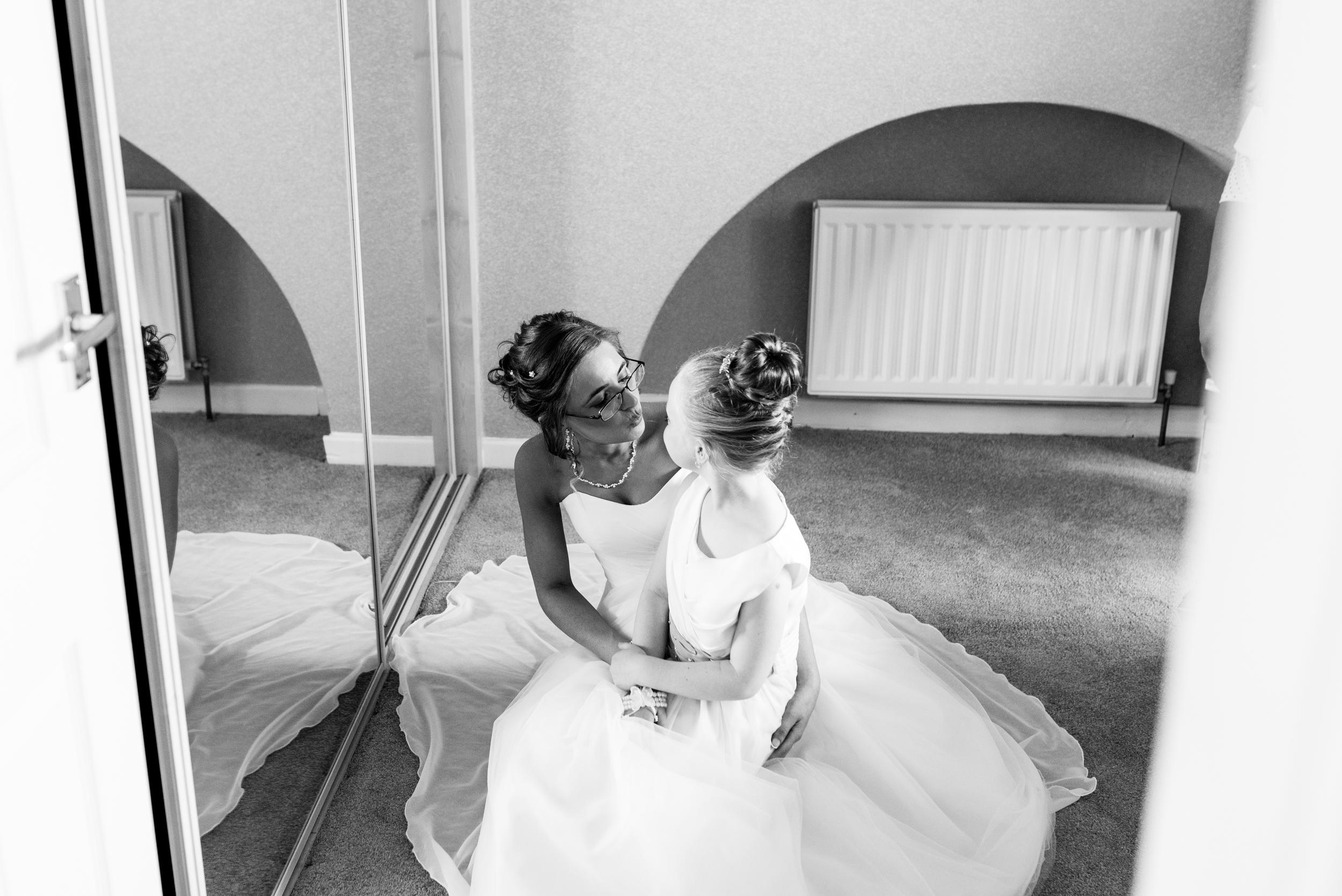 Ballymac_hotel_wedding_Lisburn_Bride_and_Daughter