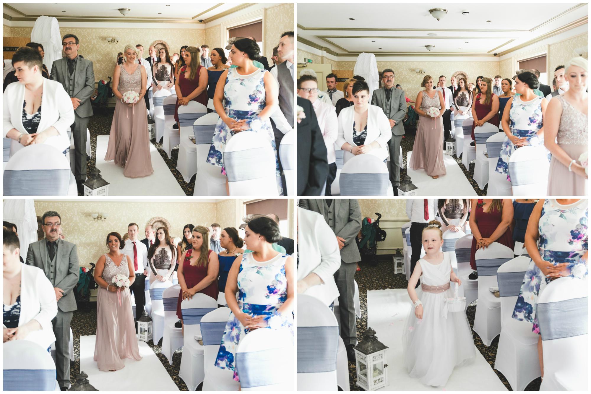 Ballymac_hotel_wedding_lisburn_bridesmaids_ceremony